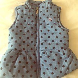 Limited Too PolkaDot Vest